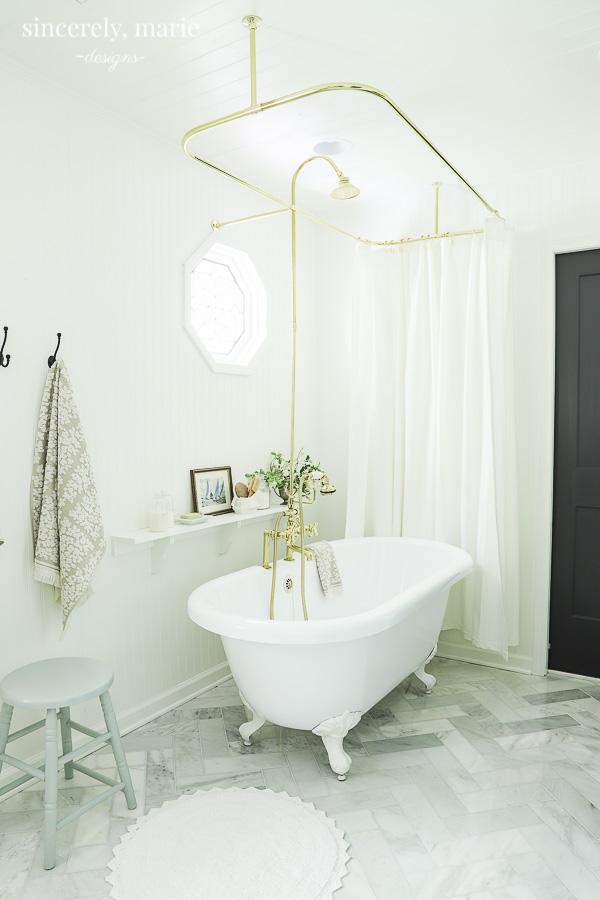 Our Elegant Timeless Master Bathroom Reveal Master Bathroom