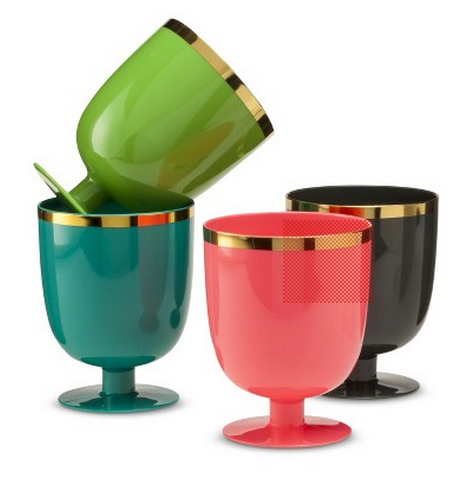 target goblets | Colorful apartment decor, New year's eve ...