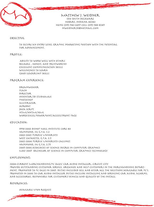 An eye-catching resume design Resume Ideas Pinterest Resume - Eye Catching Resume