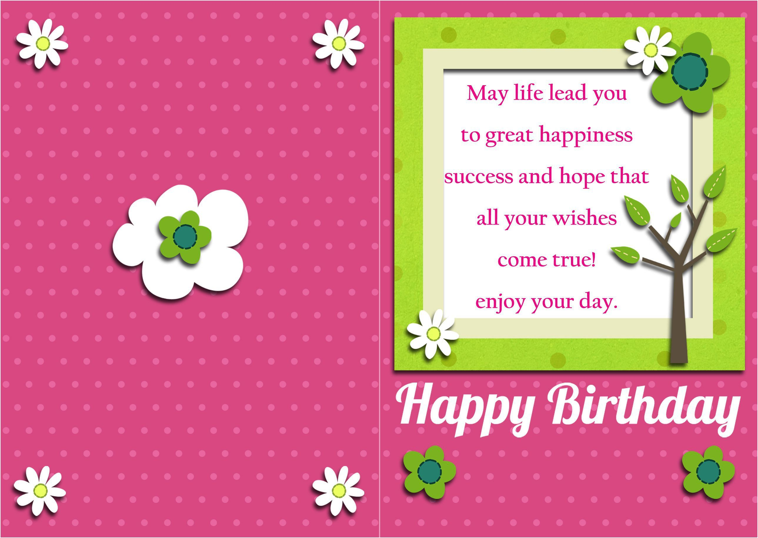 Top Free Birthday Card Templates Word Excel Best Design Completing With Simple