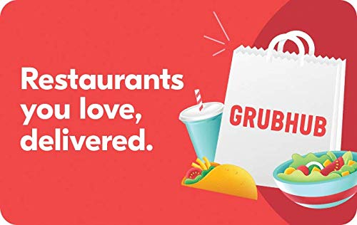 Amazon Com Grubhub Gift Cards Email Delivery Gift Cards Gift Card Giveaway Grubhub Gift Card