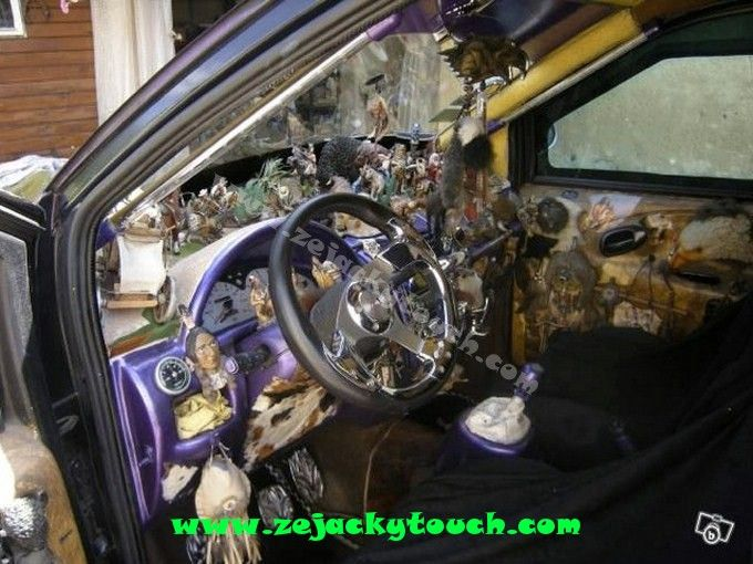 Un int rieur de malade d 39 un jacky fan de cowboys et d for Interieur tuning auto