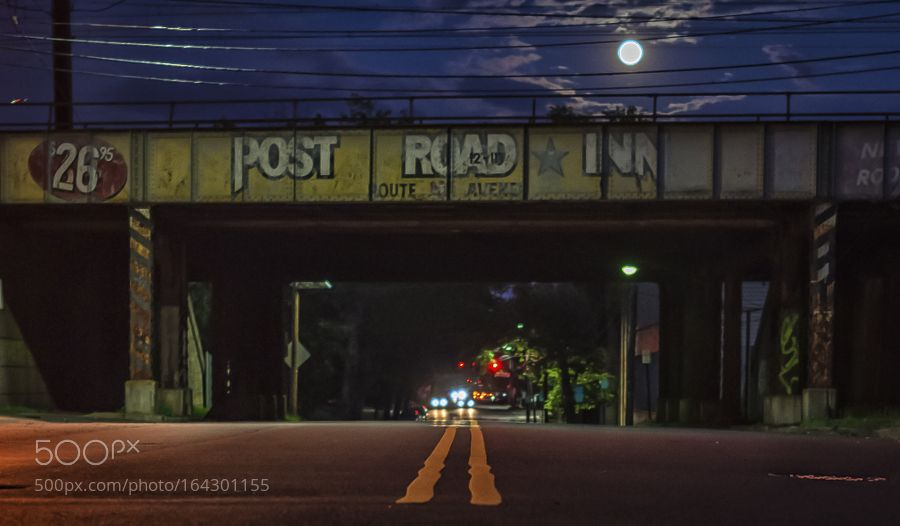 Post Road Inn Moonrise by traywickanderson #architecture #building #architexture #city #buildings #skyscraper #urban #design #minimal #cities #town #street #art #arts #architecturelovers #abstract #photooftheday #amazing #picoftheday