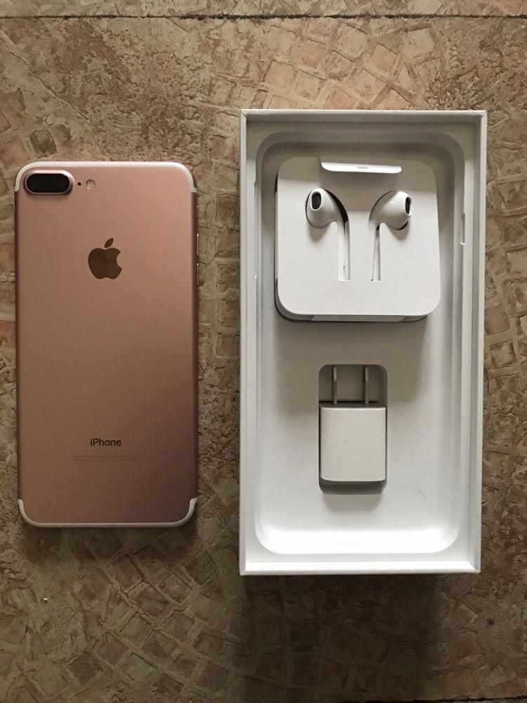 Apple Iphone 7 Plus 128gb Rose Gold T Mobile A1784 Gsm Iphone8plus Iphone Iphone 7 Rose Gold Apple Iphone
