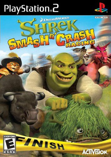 Shrek Smash N Crash Racing Playstation 2 Shop Pinterest