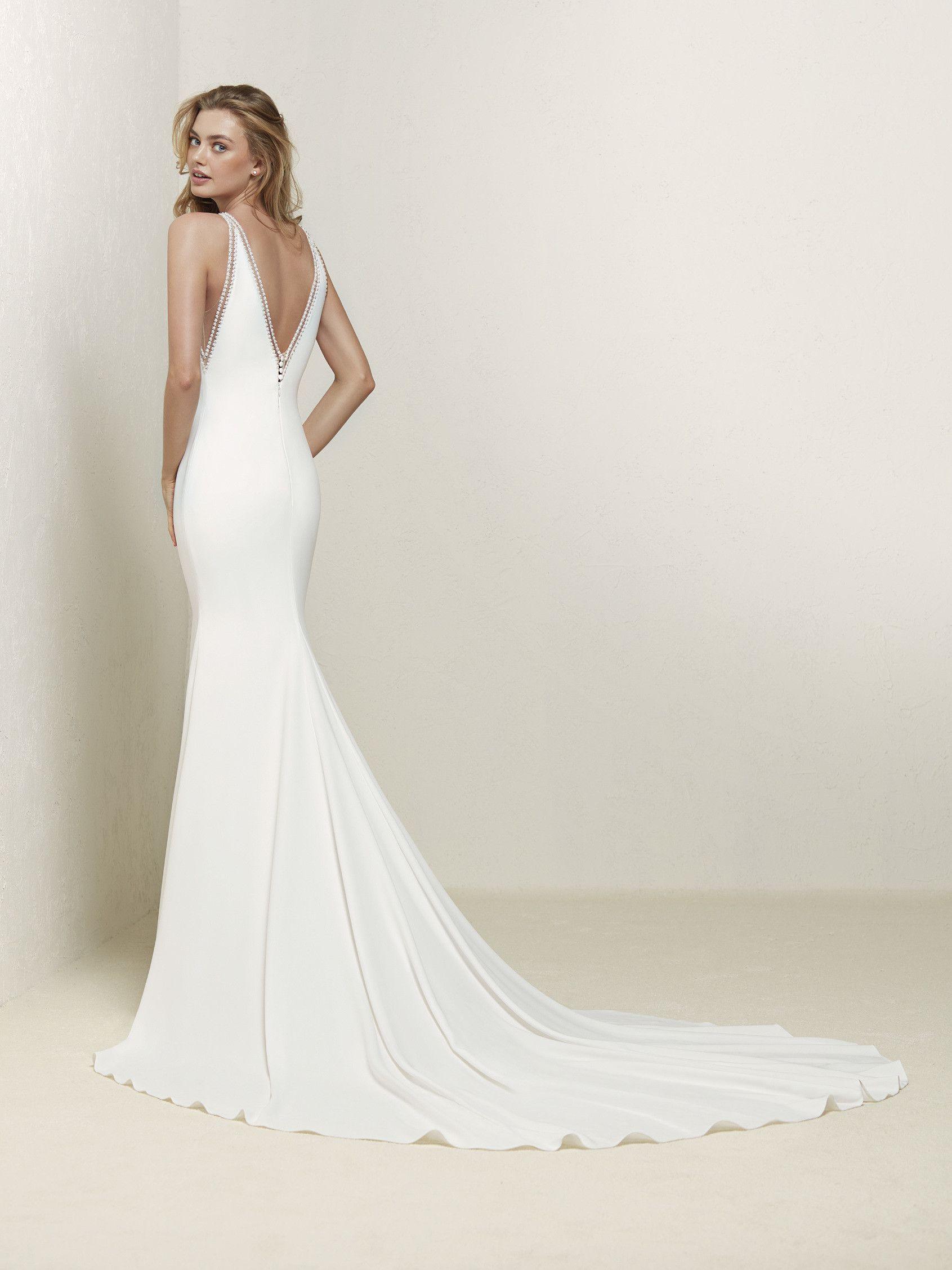 Vestido de novia sirena encaje | BRIDE - ONE | Pinterest