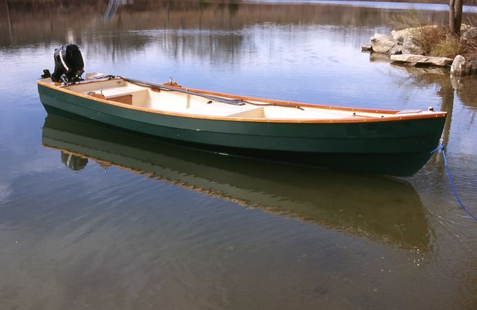 Home Built Fishing Motor Boat From Plans Lutra Laker