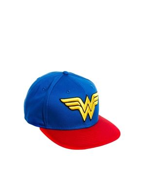 New Era Exclusive to ASOS Wonder Woman Snapback Cap. Adjustable to fit  most. 100 ccc91cf900a