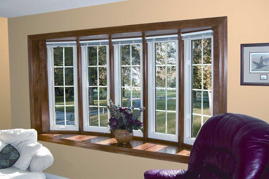Great Installing Window Treatments For Bow Windows Decoration Ideas Home Interior Room Window Treatments Living Room Living Room Windows Bay Window Living Room
