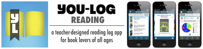 YOU-LOG READING: #1 iPhone/iPod Touch reading log app