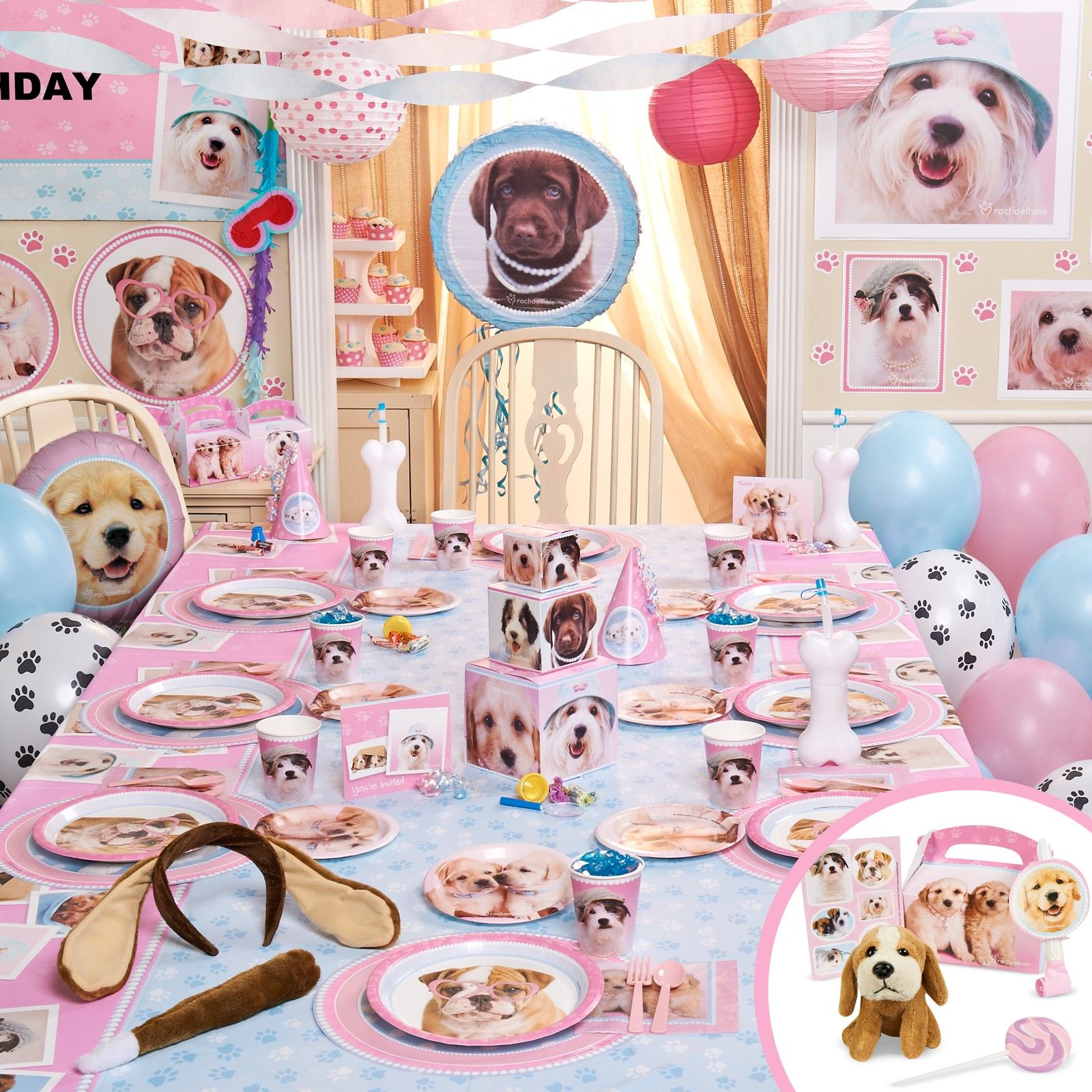 Rachaelhale Glamour Dogs Party Packs Dog Birthday Party Dog Party Puppy Birthday Parties