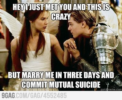 Ok, so I laughed soooo hard at this... Kevin told me it wasn't that funny.... Then again, he's never read Shakespear...