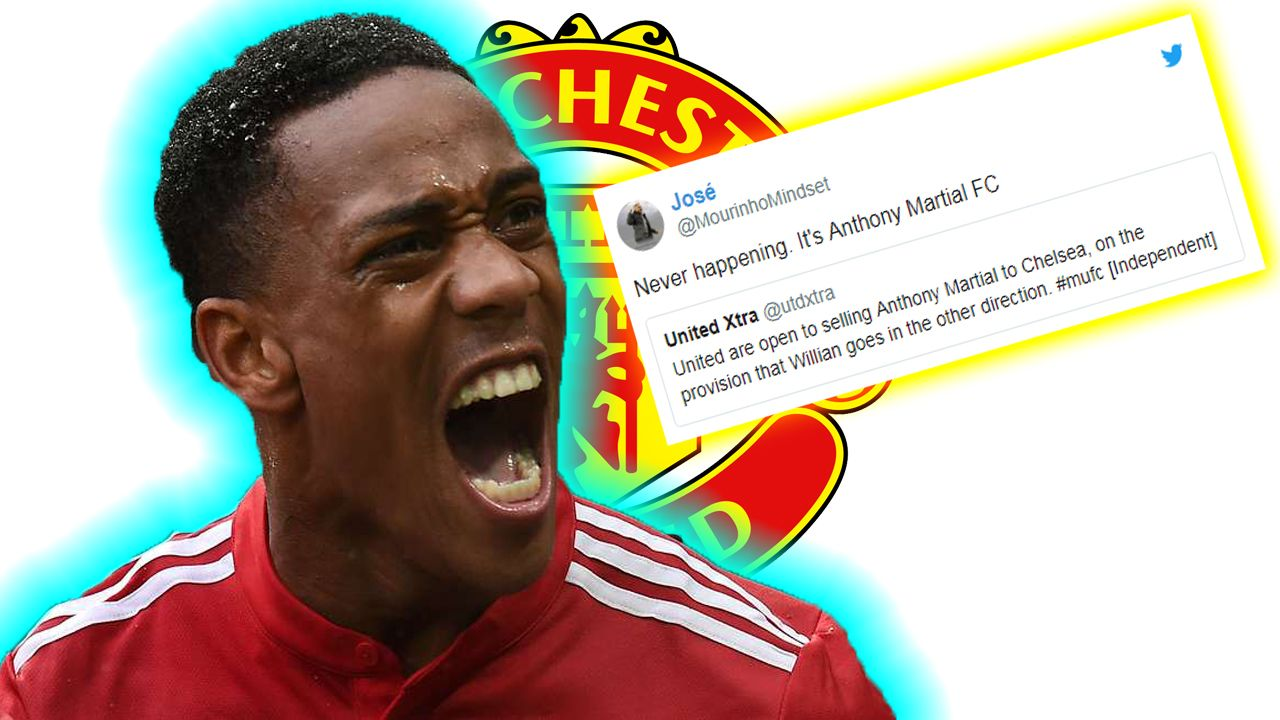 Man Utd fans furious with latest Anthony Martial transfer