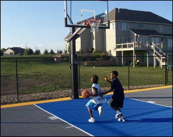 chicago basketball courts   Basketball court backyard ...