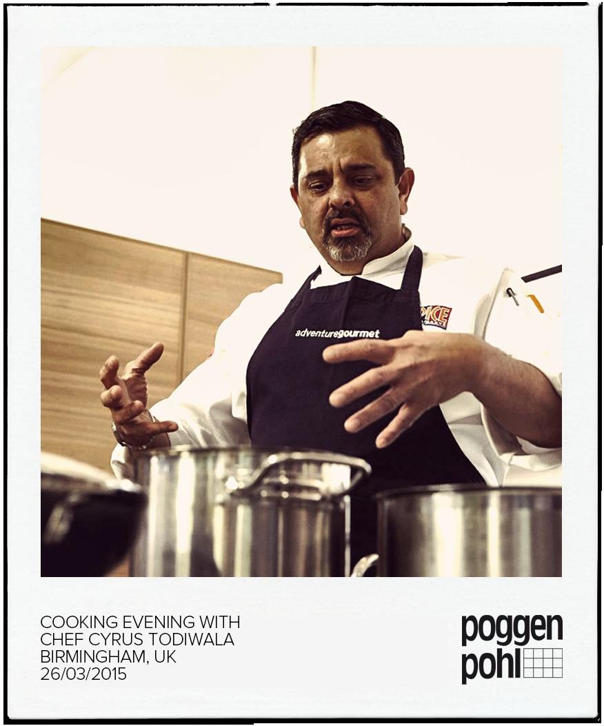 Tivoli Birmingham Al: Cooking Evening With Chef Cyrus Todiwala BIRMINGHAM, UK