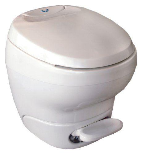 Thetford 31085 Bravura Toilet, High / Parchment | RV Motorhome Parts ...