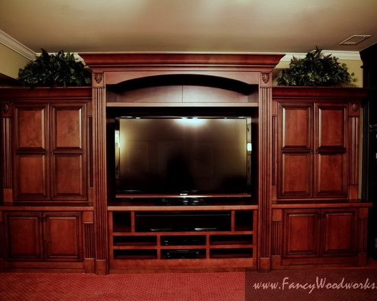 Elegant Entertainment Center Design Pictures Remodel Decor And