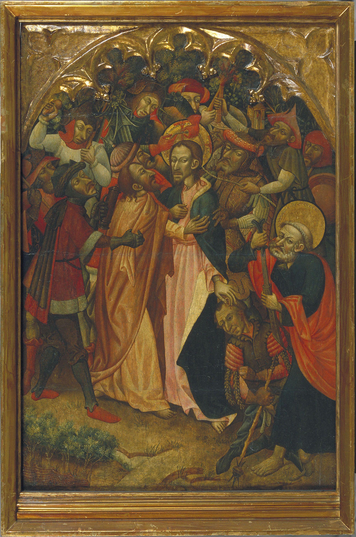 The Kiss of Judas | Museu Nacional d'Art de Catalunya