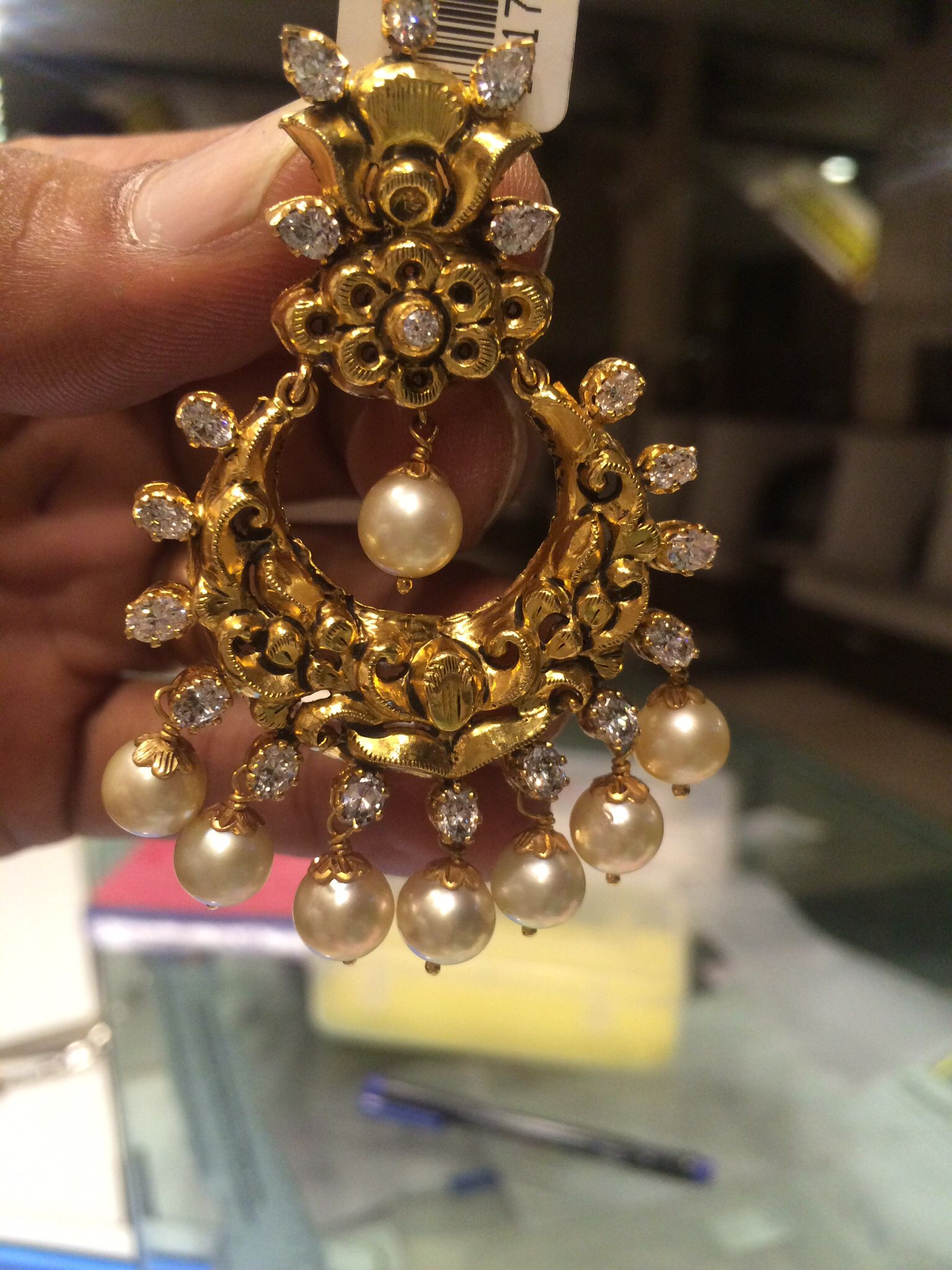 Fantastic Jhumko Kaner Stone Picture Images - Jewelry Collection ...