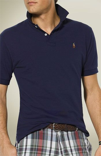 0d4fb2abe Free shipping and returns on Polo Ralph Lauren Classic Fit Piqué Cotton Polo  at Nordstrom.com. A short-sleeve polo cut with a classic, comfortable fit  is ...