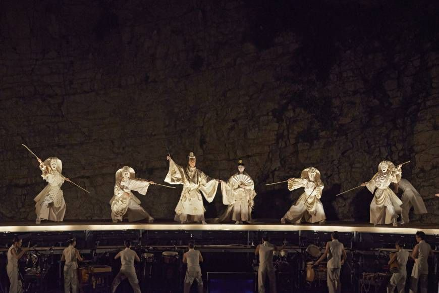 Poetry in motion: A scene from Satoshi Miyagi's acclaimed Avignon Festival 2014 production of