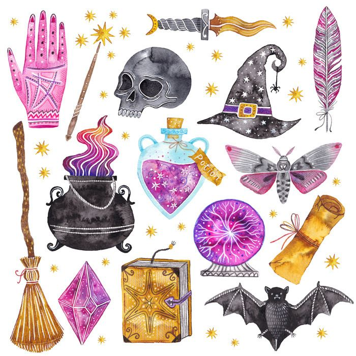 Halloween Stickers Aesthetic.Pin By Vaughn Bell On Halloween Costumes In 2019 Witch Art