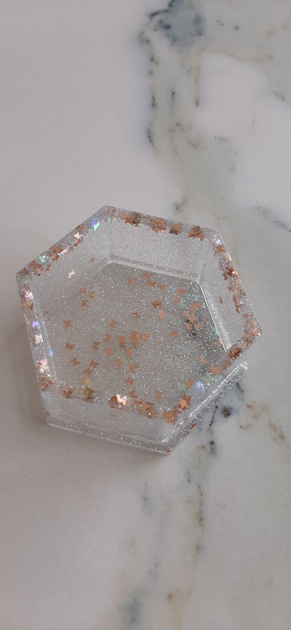Resin jewellery box in 2020 Resin jewelry, Butterfly box