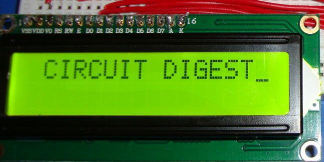 Rf Module With 8051 Microcontroller Tutorial With Circuit Diagram