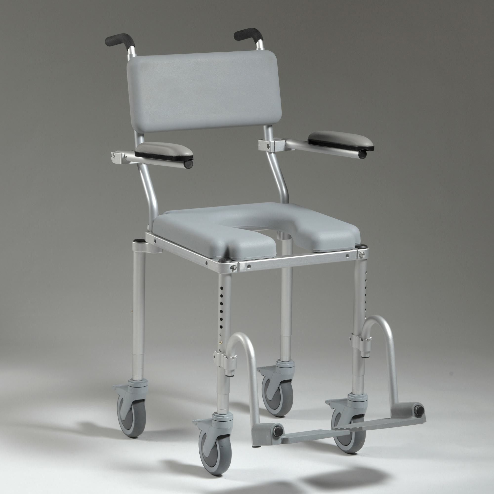 Nuprodx MultiChair 4000 Shower Chair On Wheels For