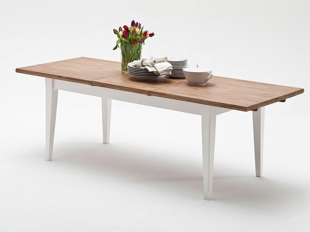 24294f extendable glass dining table -
