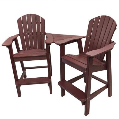 Darby Home Co Spiegel Plastic Adirondack Chair | Wayfair