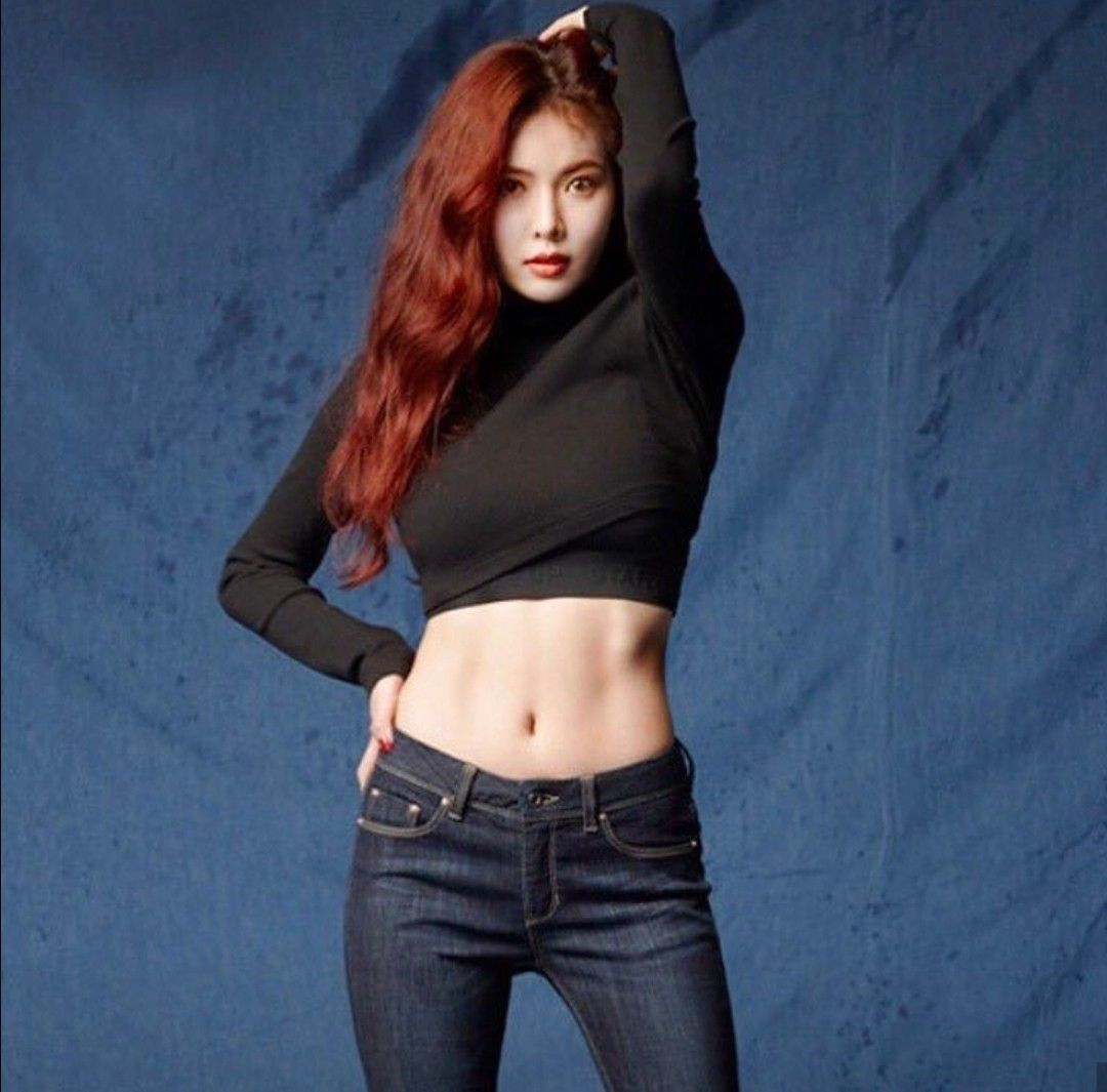 Hyuna Abs Kpop Girls Hyuna Body Asian Celebrities