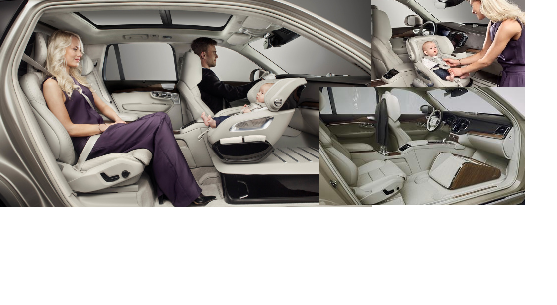 Volvo Xc90 Child Seat Concept Makes Cars Safer For Kids Kids Seating Volvo Xc90 Safe Cars