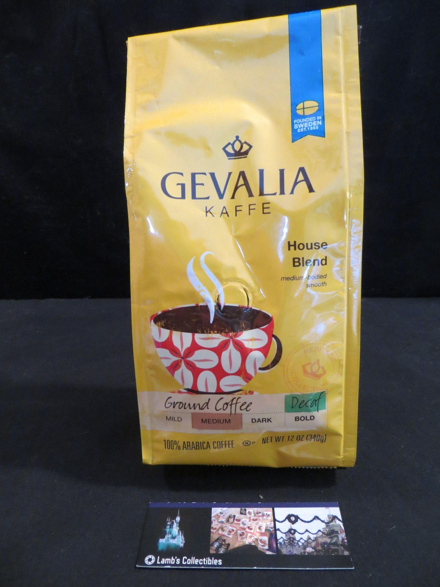 Gevalia Coffee House Kaffe House blend decaffeinated 12 oz