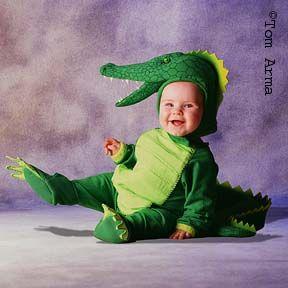 Infant Crocodile Costume