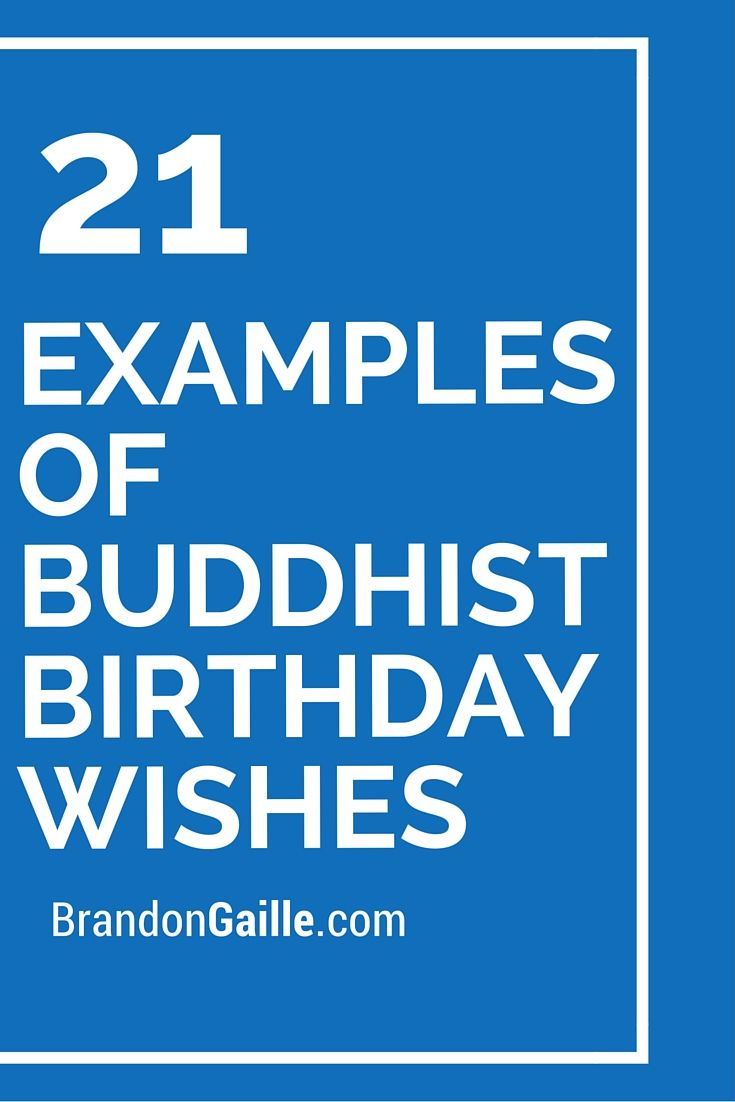21 Examples Of Buddhist Birthday Wishes Messages Quotes
