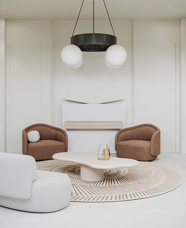 "KSENIA BREIVO on Instagram: ""Living room.   @studio_breivo  @darseev   dreamers  kseniabreivointeriors  kseniabreivointeriordesign  interior  interiordesign…"""