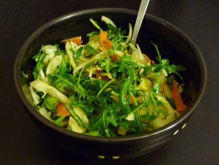 salade d 39 hiver au fenouil la table verte food salades pinterest foodies goodies and food. Black Bedroom Furniture Sets. Home Design Ideas