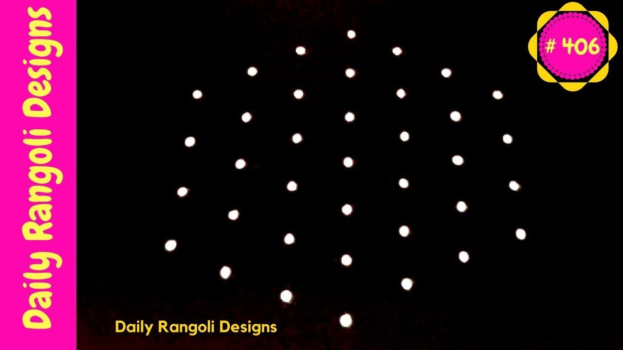 Latest melikala muggulu designs with dots  creative easy rangoli art also rh pinterest
