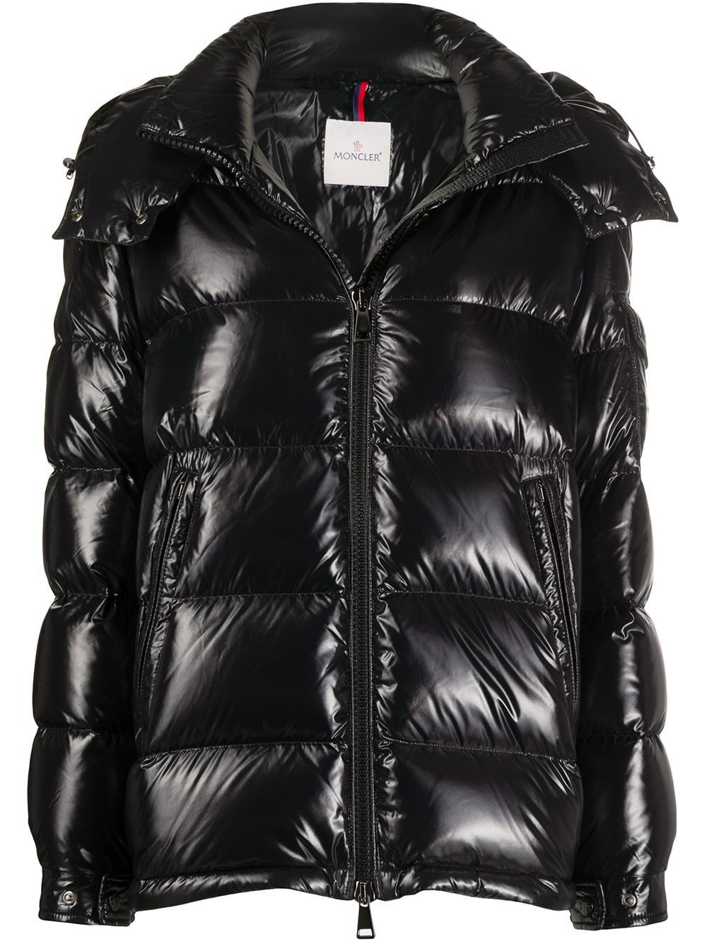 Moncler Quilted Zipped Puffer Jacket Farfetch In 2021 Moncler Jacket Women Moncler Puffer Jackets [ 1334 x 1000 Pixel ]