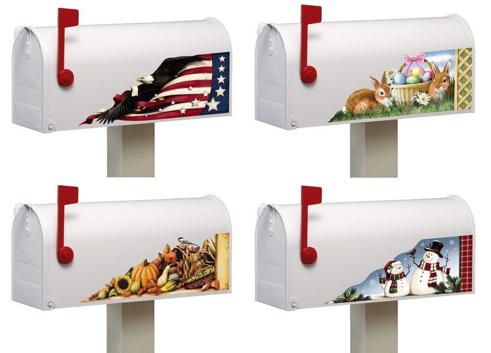 Amazon Com 8 Piece Set Mailbox Magnet Decor Multi Holiday
