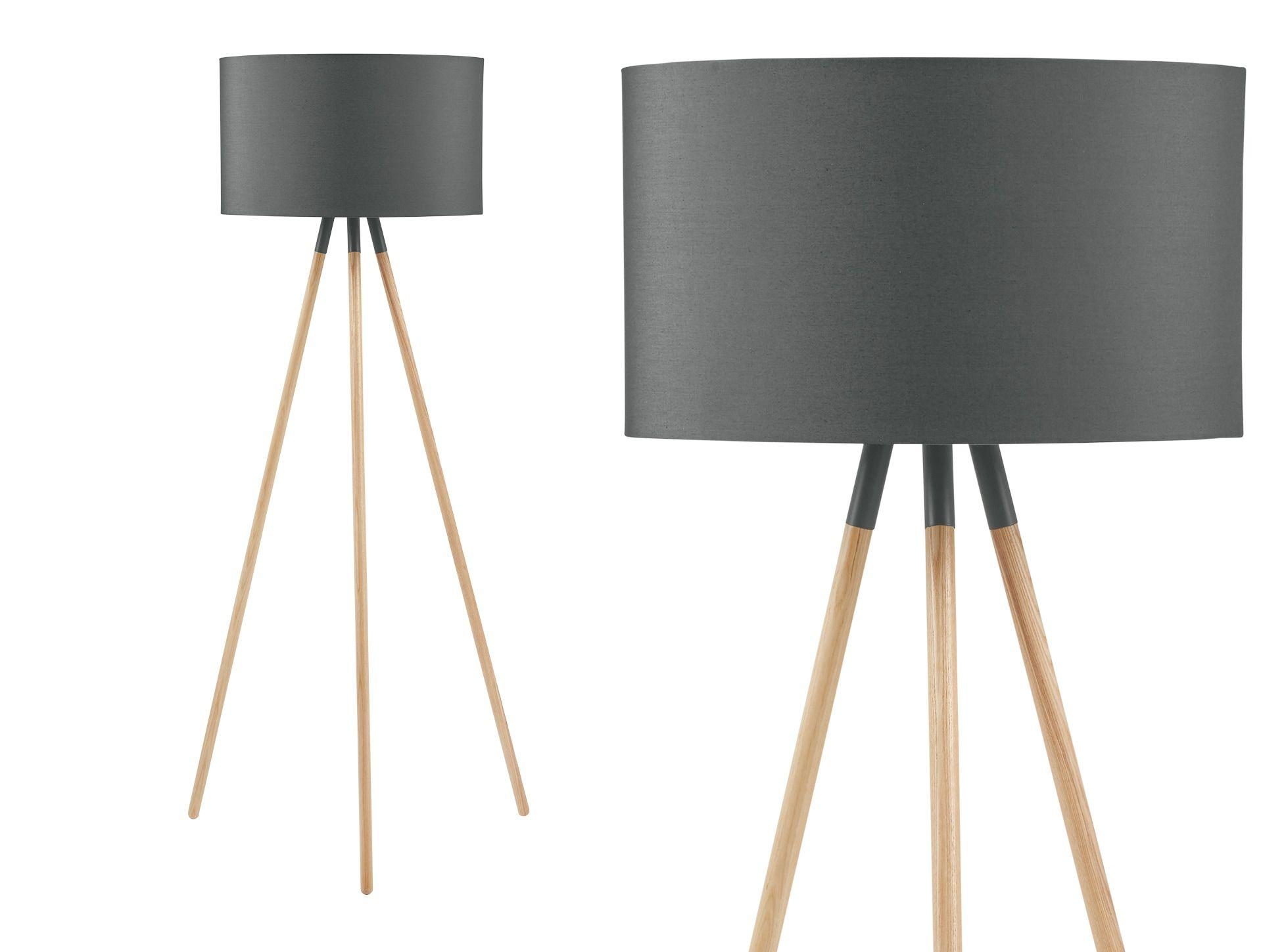 Madison Tripod Floor Lamp, Navy Blue