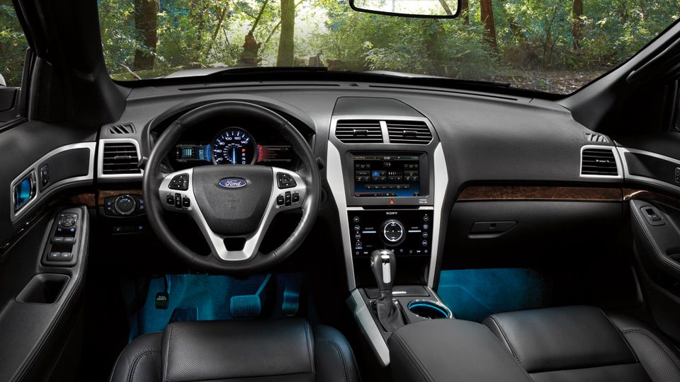 Elegant 2013 Ford Explorer Interior _wallpaper 1 Awesome Design