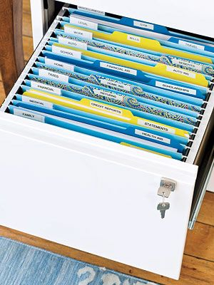 the smart ways to store important papers organizing pinterest