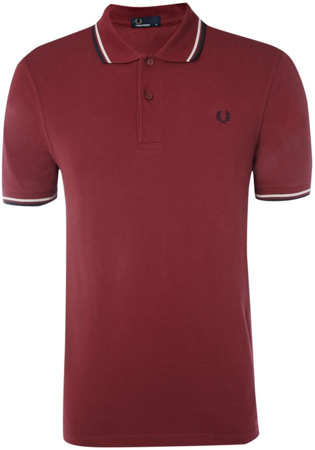 9a1327173e Classic Fred Perry polo. Cheaper than Pretty Green.Fred Perry Men's Slim  fit twin tipped polo shirt on shopstyle.co.uk