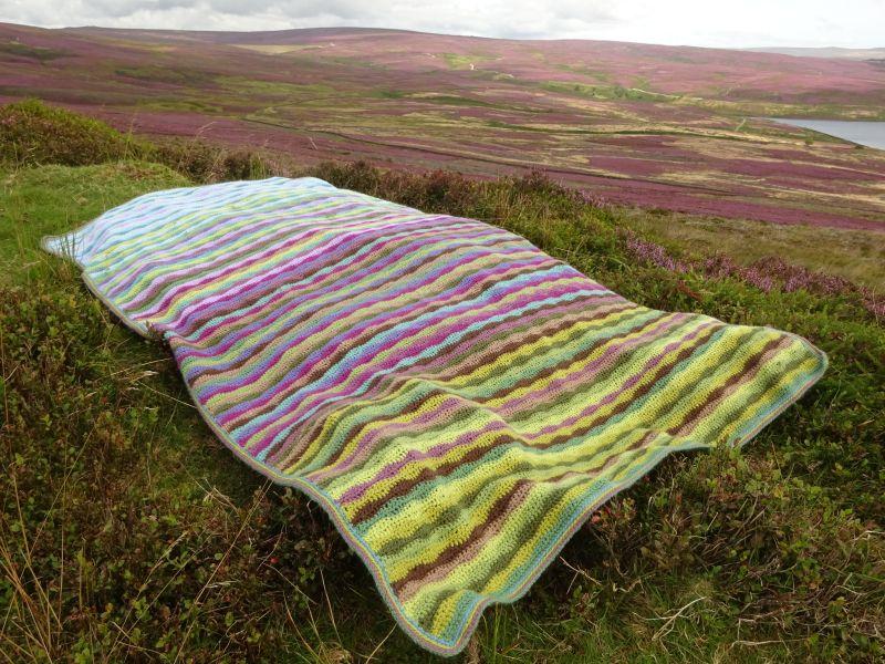 Attic24 Moorland Blanket So Very Beautiful Stylecraft Blanket Crochet