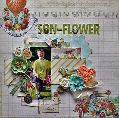 Son-Flower DT work LE KIT April