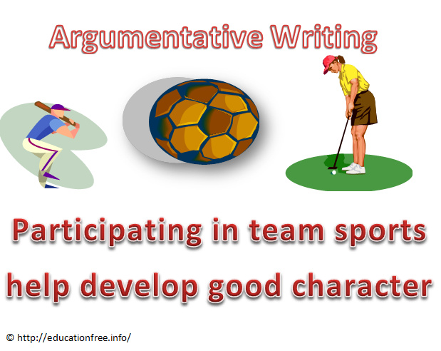 Essay sports help develop good character