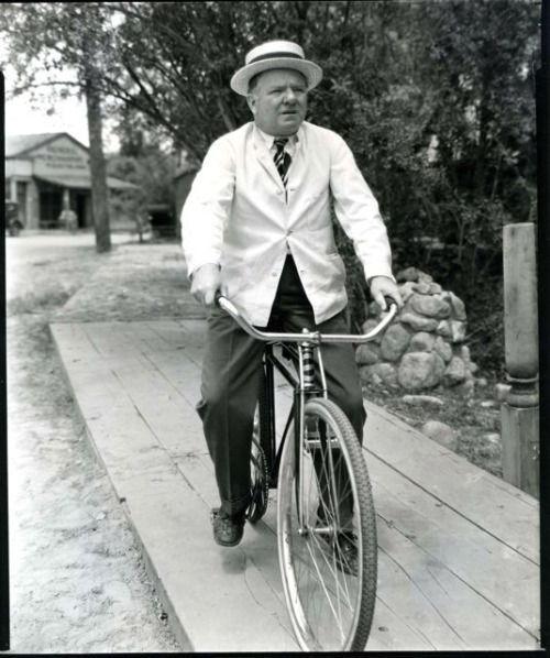 W C Fields Rides A Bike Famous Bike Riders Pinterest