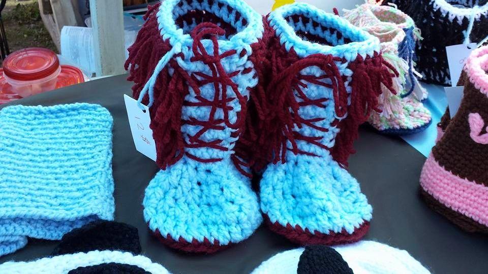 Pantoufles bottes poilues adultes double laine
